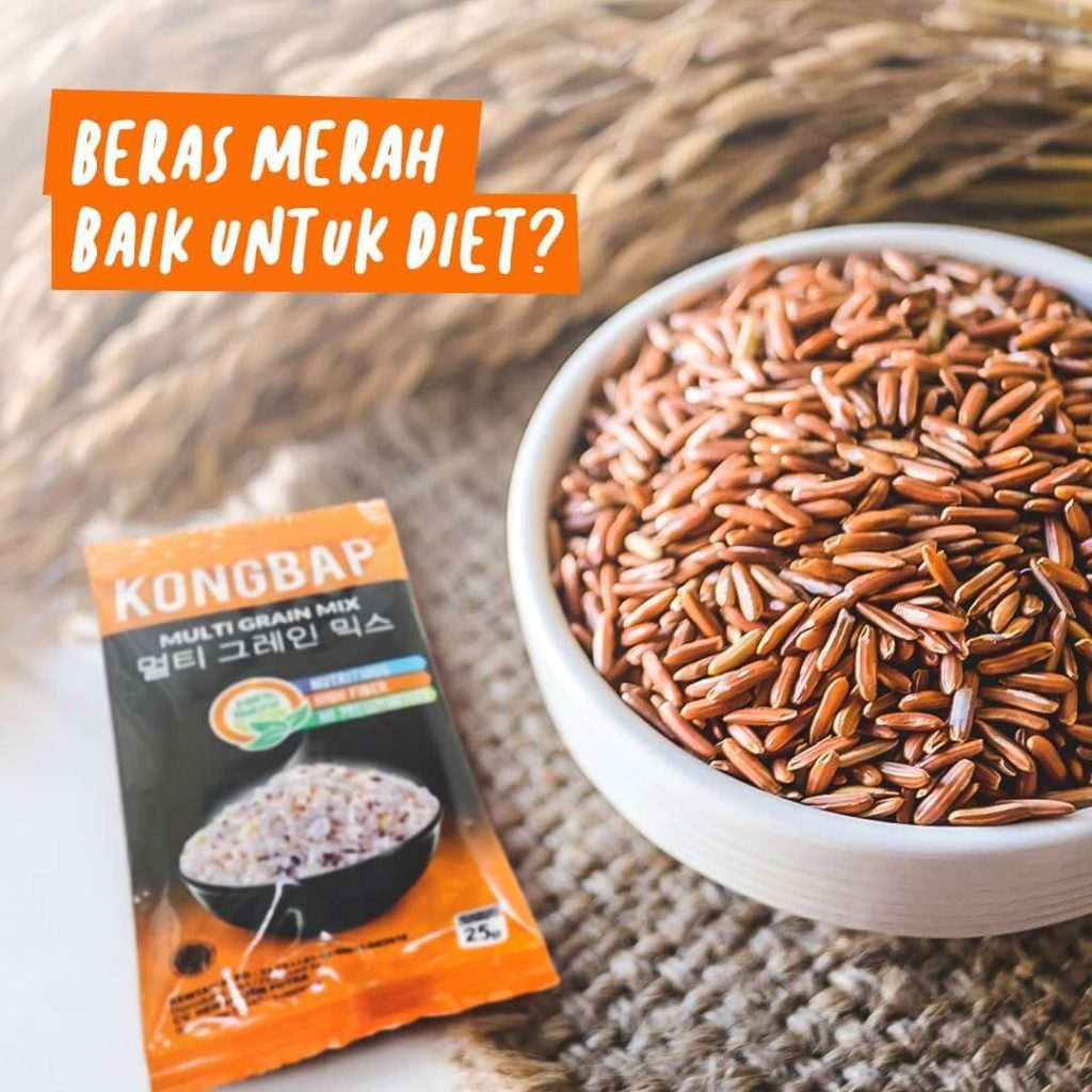 Manfaat Nasi Merah Kongbap