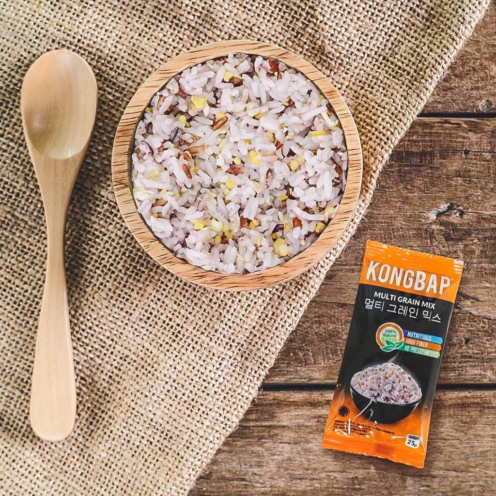 beras kongbap bikin nasi lebih sehat